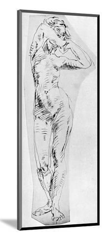 Standing Figure of a Girl, 1926-Frances Jennings-Mounted Giclee Print