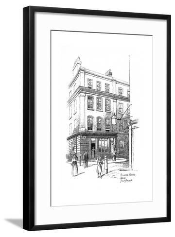 William Blake's House, Soho, London, 1912-Frederick Adcock-Framed Art Print