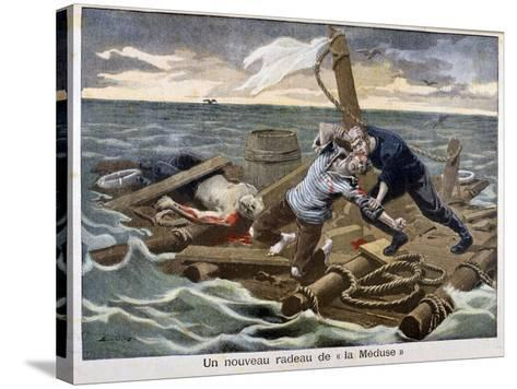 The New 'Raft of the Medusa, 1899-F Meaulle-Stretched Canvas Print