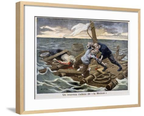 The New 'Raft of the Medusa, 1899-F Meaulle-Framed Art Print