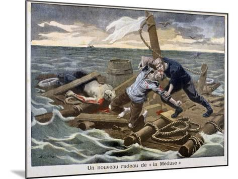 The New 'Raft of the Medusa, 1899-F Meaulle-Mounted Giclee Print