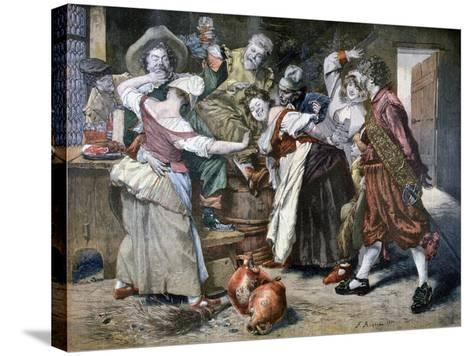 The Hot Hand, 1894-Ferdinand Roybet-Stretched Canvas Print