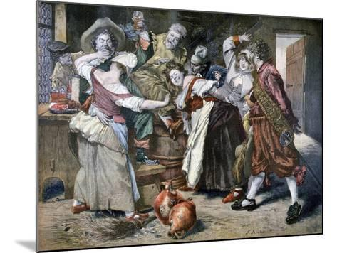 The Hot Hand, 1894-Ferdinand Roybet-Mounted Giclee Print