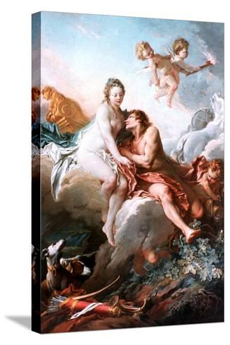 Venus and Mars, C1725-1770-Fran?ois Boucher-Stretched Canvas Print