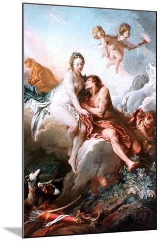 Venus and Mars, C1725-1770-Fran?ois Boucher-Mounted Giclee Print