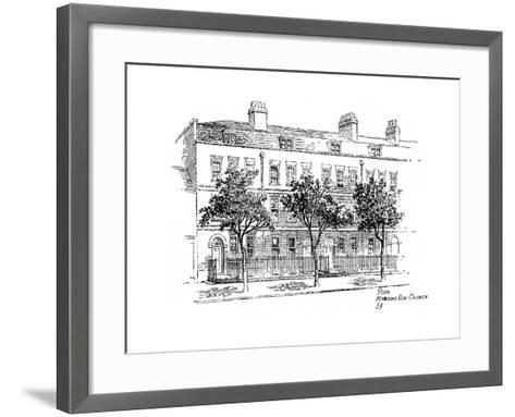 Alexander Pope, Mawson's Row, Chiswick, London, 1912-Frederick Adcock-Framed Art Print