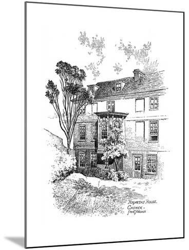 Hogarth's House, Chiswick, 1912-Frederick Adcock-Mounted Giclee Print