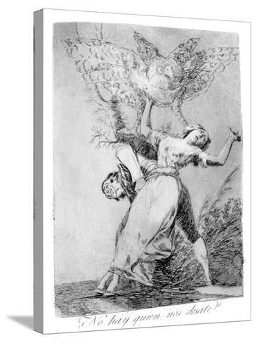 Can't Anyone Unite Us?, 1799-Francisco de Goya-Stretched Canvas Print