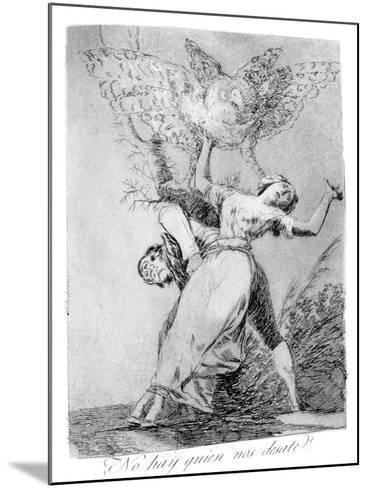Can't Anyone Unite Us?, 1799-Francisco de Goya-Mounted Giclee Print