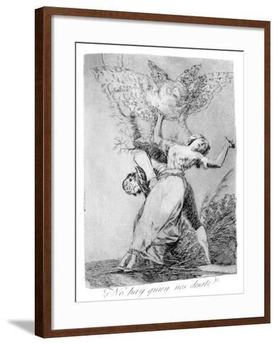 Can't Anyone Unite Us?, 1799-Francisco de Goya-Framed Art Print