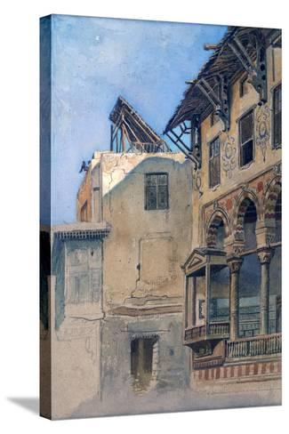 House of Memlook Radnau Bey, Cairo, 1870-Frank Dillon-Stretched Canvas Print