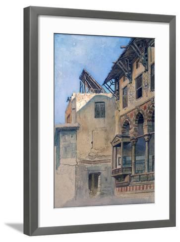 House of Memlook Radnau Bey, Cairo, 1870-Frank Dillon-Framed Art Print