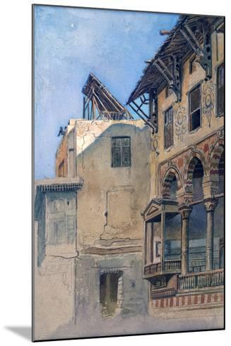 House of Memlook Radnau Bey, Cairo, 1870-Frank Dillon-Mounted Giclee Print