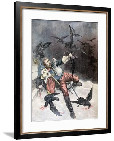 The Raven, 1890-F Meaulle-Framed Art Print