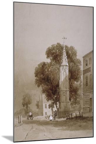 Tottenham High Road, London, C1820-George Harley-Mounted Giclee Print