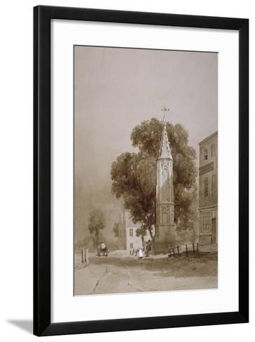Tottenham High Road, London, C1820-George Harley-Framed Art Print