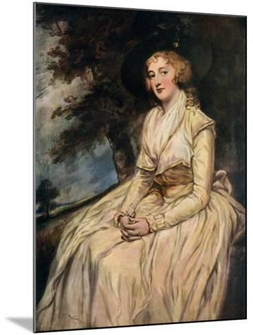 Charlotte, Lady Milnes 18th Century-George Romney-Mounted Giclee Print