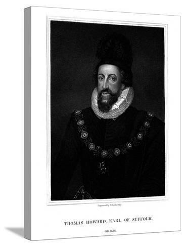 Admiral Thomas Howard, 1st Earl of Suffolk-G Kellaway-Stretched Canvas Print