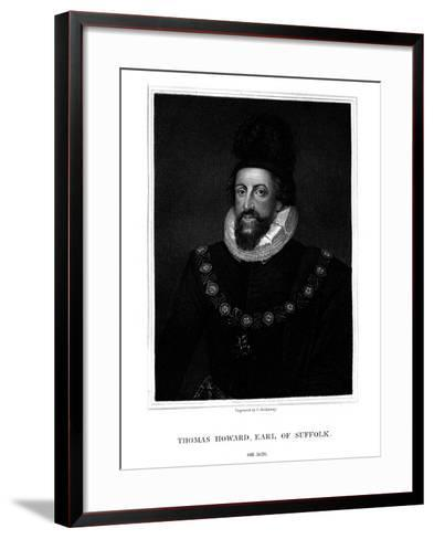 Admiral Thomas Howard, 1st Earl of Suffolk-G Kellaway-Framed Art Print