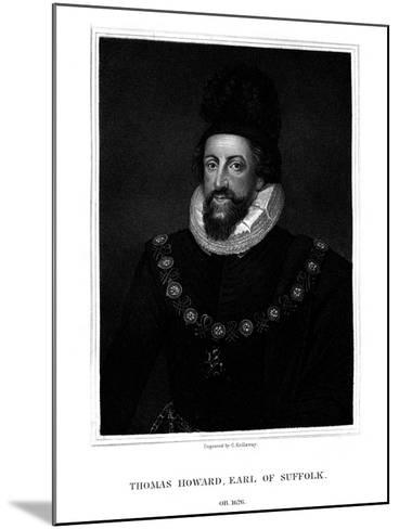 Admiral Thomas Howard, 1st Earl of Suffolk-G Kellaway-Mounted Giclee Print