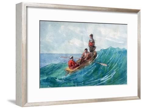 The Boat, 1820-1876-George Sand-Framed Art Print