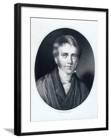Sir John Herschel, Astronomer and Scientist, 1810S-Gaspare Gabrielli-Framed Art Print