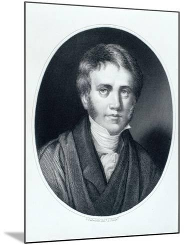 Sir John Herschel, Astronomer and Scientist, 1810S-Gaspare Gabrielli-Mounted Giclee Print