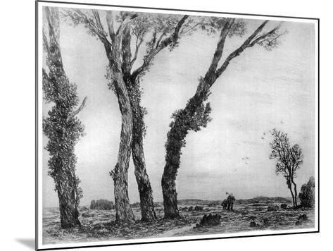 Fin De La Journee, 1890-1940-Gaston de Latenay-Mounted Giclee Print