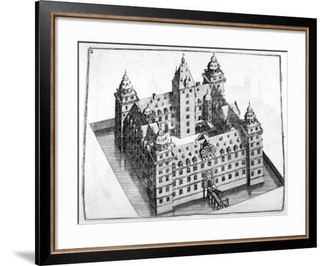 Chateau Design, 1664-Georg Andreas Bockler-Framed Art Print