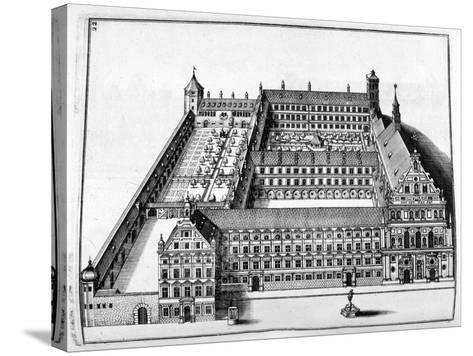 Chateau Design, 1664-Georg Andreas Bockler-Stretched Canvas Print