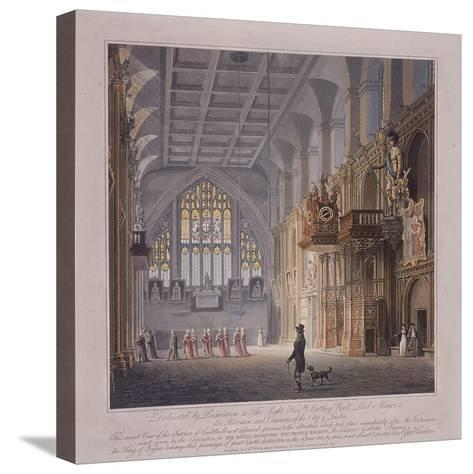 Guildhall, London, 1816-George Hawkins-Stretched Canvas Print