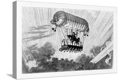 Aerostat, 1887-Gaston Tissandier-Stretched Canvas Print