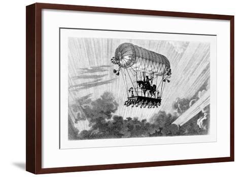 Aerostat, 1887-Gaston Tissandier-Framed Art Print