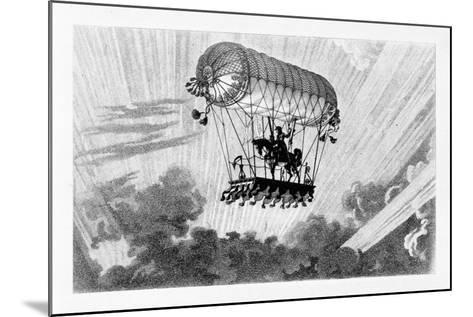 Aerostat, 1887-Gaston Tissandier-Mounted Giclee Print