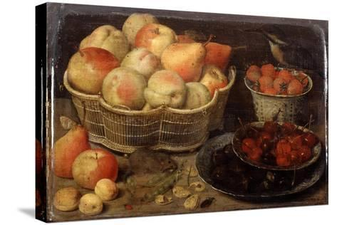 Still Life with Fruit, Late 16th-Early 17th Century-Georg Flegel-Stretched Canvas Print