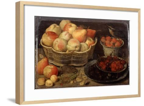 Still Life with Fruit, Late 16th-Early 17th Century-Georg Flegel-Framed Art Print