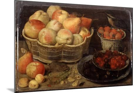Still Life with Fruit, Late 16th-Early 17th Century-Georg Flegel-Mounted Giclee Print