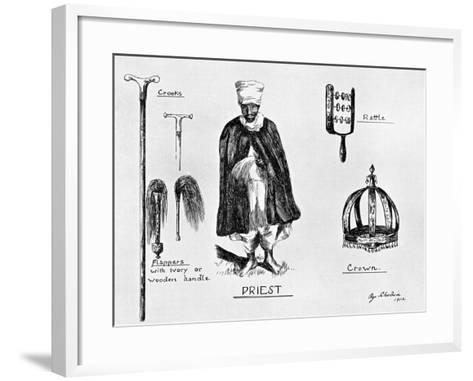Insignia of Priesthood, 1912-G Schulein-Framed Art Print