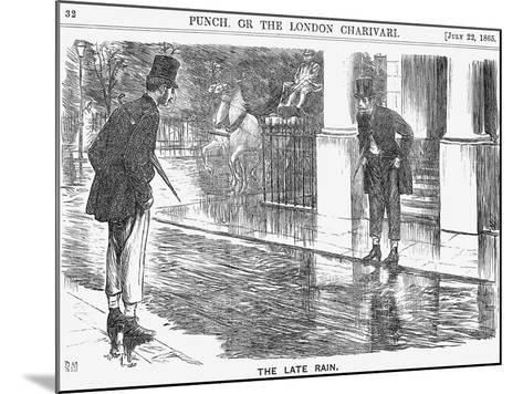 The Late Rain, 1865-George Du Maurier-Mounted Giclee Print