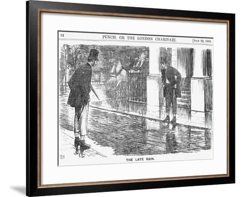 The Late Rain, 1865-George Du Maurier-Framed Art Print