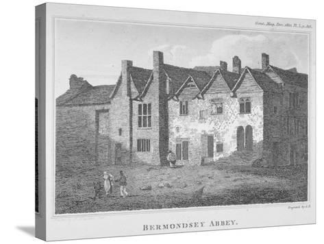 The Abbey of St Saviour, Bermondsey, Southwark, London, 1810-George Henry Andrews-Stretched Canvas Print