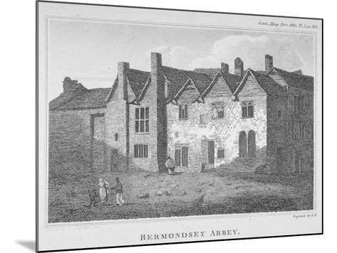 The Abbey of St Saviour, Bermondsey, Southwark, London, 1810-George Henry Andrews-Mounted Giclee Print
