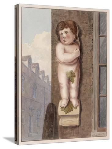 Pye Corner, London, 1812-George Shepheard-Stretched Canvas Print