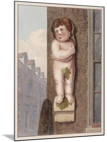 Pye Corner, London, 1812-George Shepheard-Mounted Giclee Print