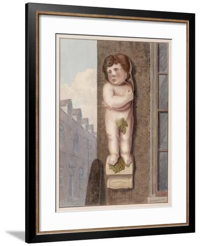 Pye Corner, London, 1812-George Shepheard-Framed Art Print