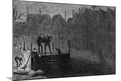 The Night before the Execution, 1554-George Cruikshank-Mounted Giclee Print