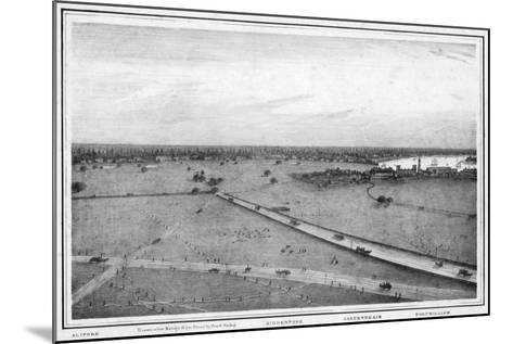 Panorama of Calcutta, India, C1840S-Frederick Fiebig-Mounted Giclee Print