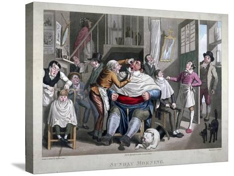 Sunday Morning, C1825-George Hunt-Stretched Canvas Print