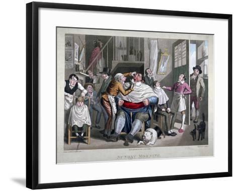 Sunday Morning, C1825-George Hunt-Framed Art Print