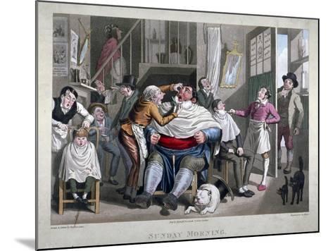 Sunday Morning, C1825-George Hunt-Mounted Giclee Print